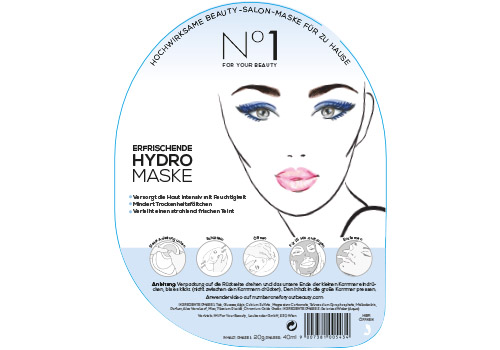 No1 For Your Beauty Shaker Masken Hydro