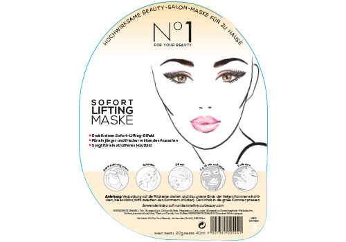 No1 For Your Beauty Shaker Masken Lifting