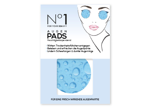 No1 For Your Beauty Augenpads Feuchtigkeit